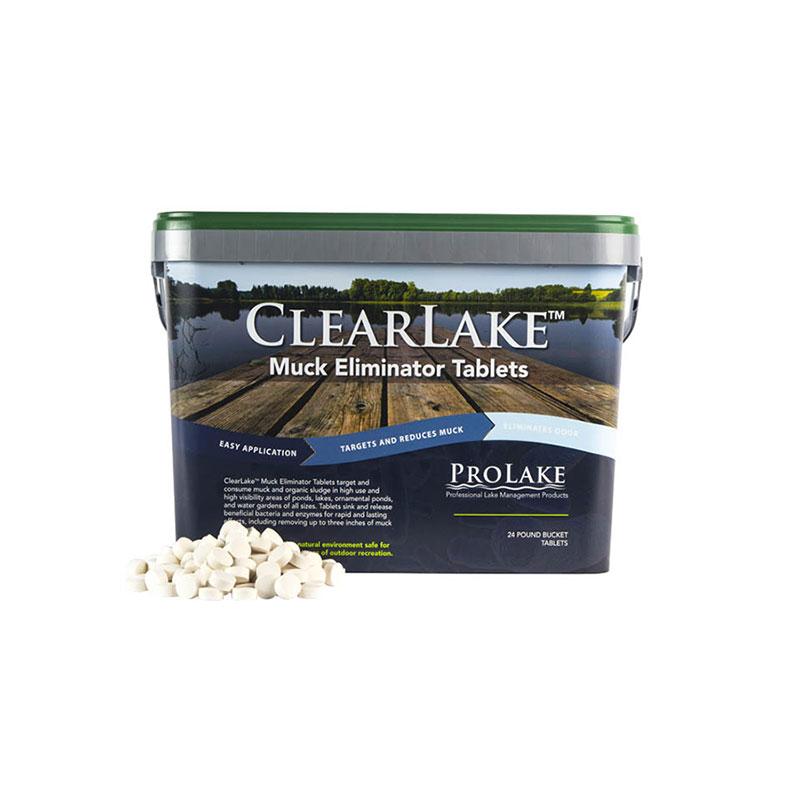 ProLake™ ClearLake™ Muck Eliminator Tablets (Formerly Waste and Sludge Digester Pellets)